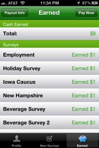 My Surveys On The Go Account