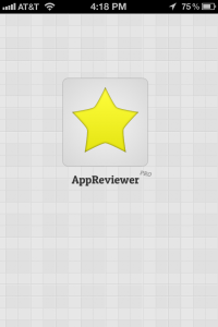 AppReviewerPro Welcome Screen