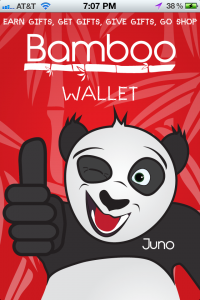 The Welcome Screen For BambooWallet